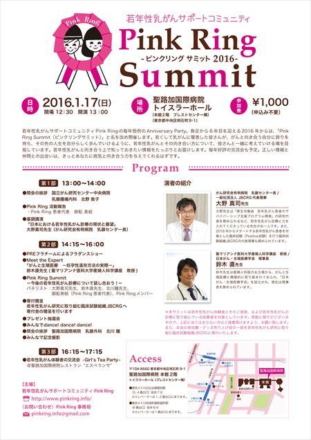 【Pink Ring Summit 2016】